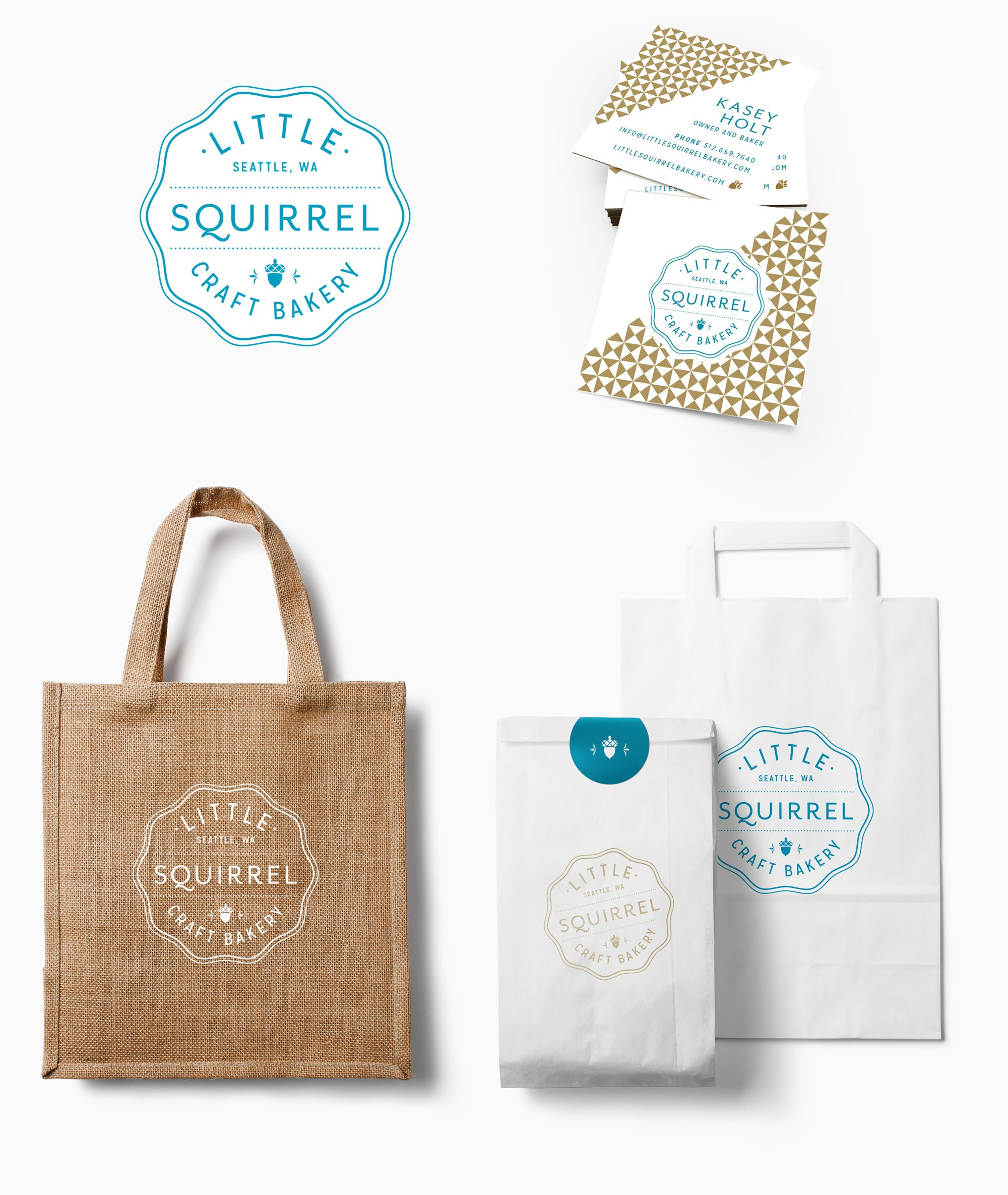Identity Design for Bakery
