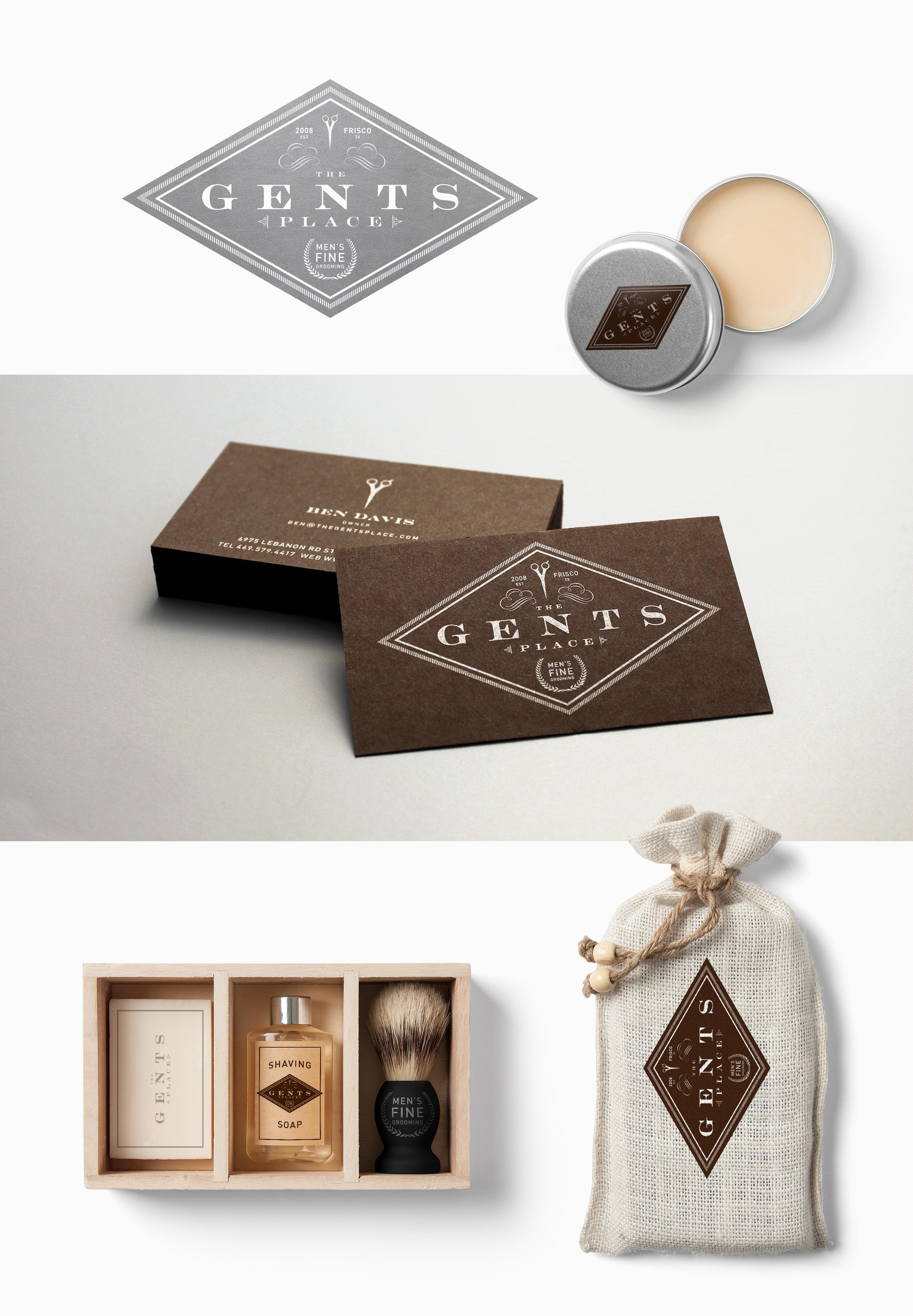 Gents Branding Design
