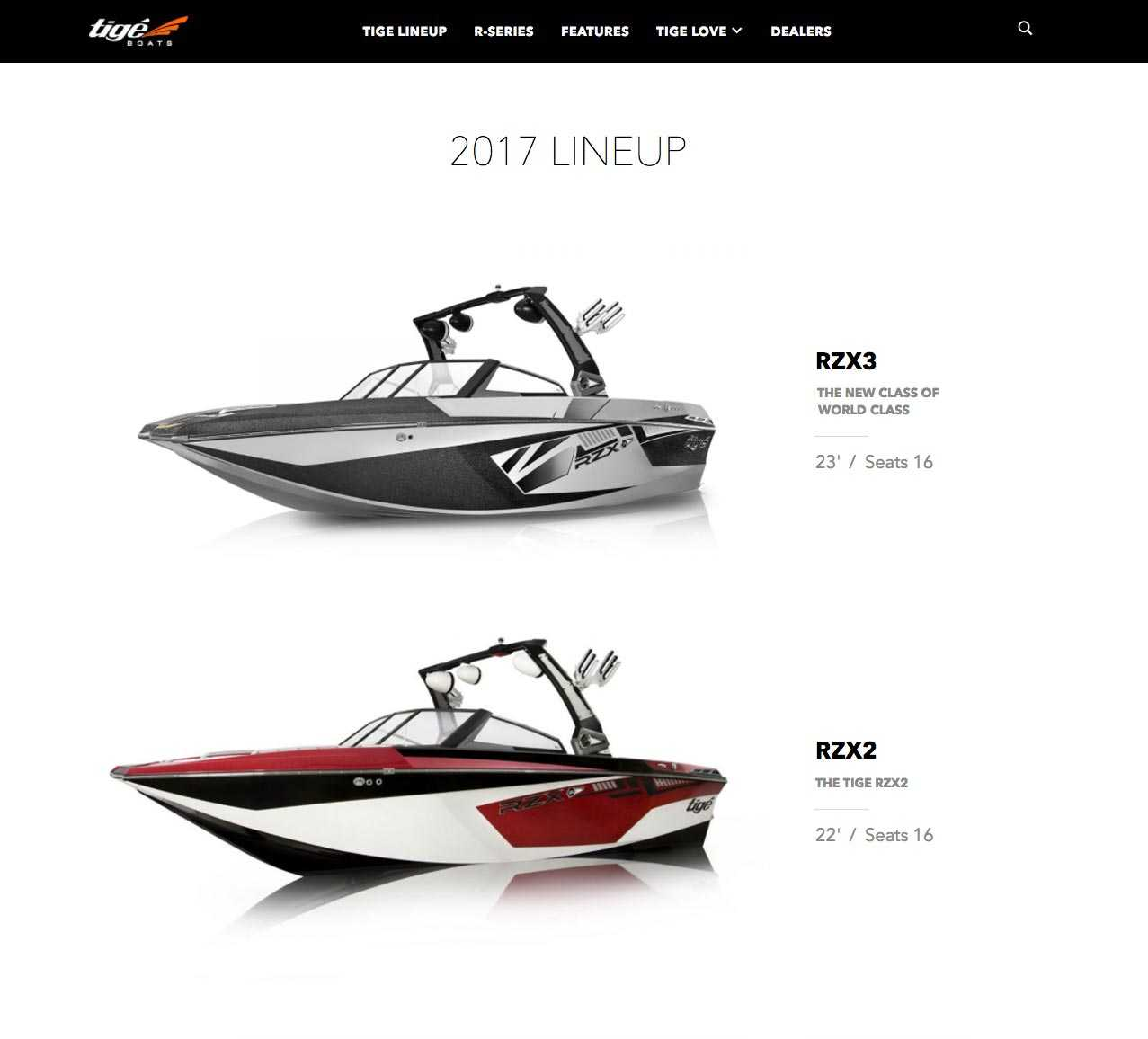 Website Design for Boats