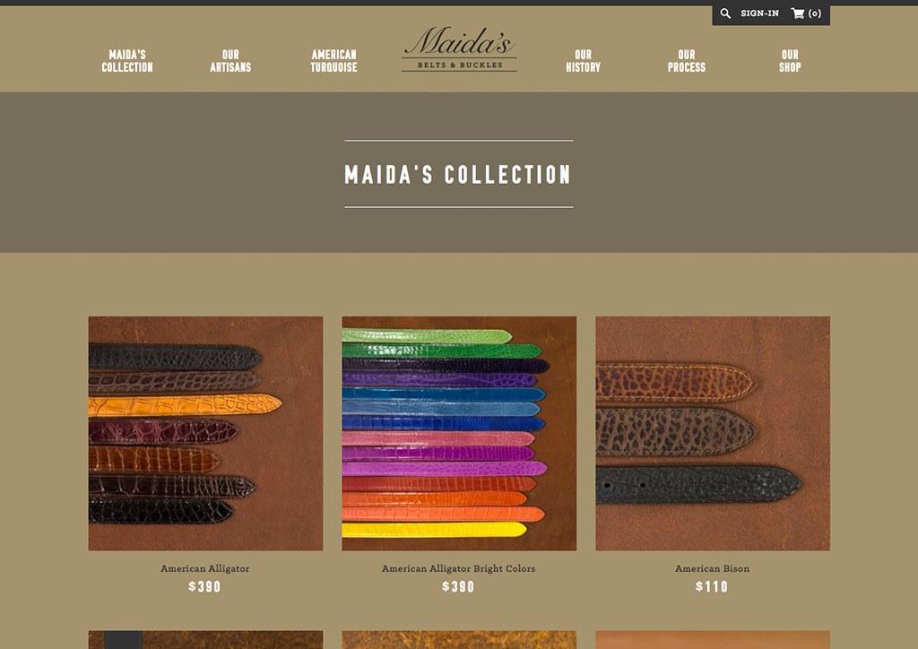 E-Commerce Website Design for Western Studio