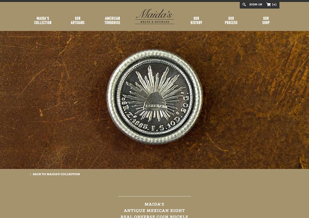 Web Design for Maidas